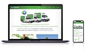 Site vitrine entreprise transport LAVAL