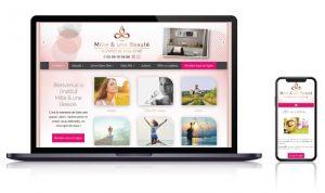 Site vitrine institut de beaute LAVAL